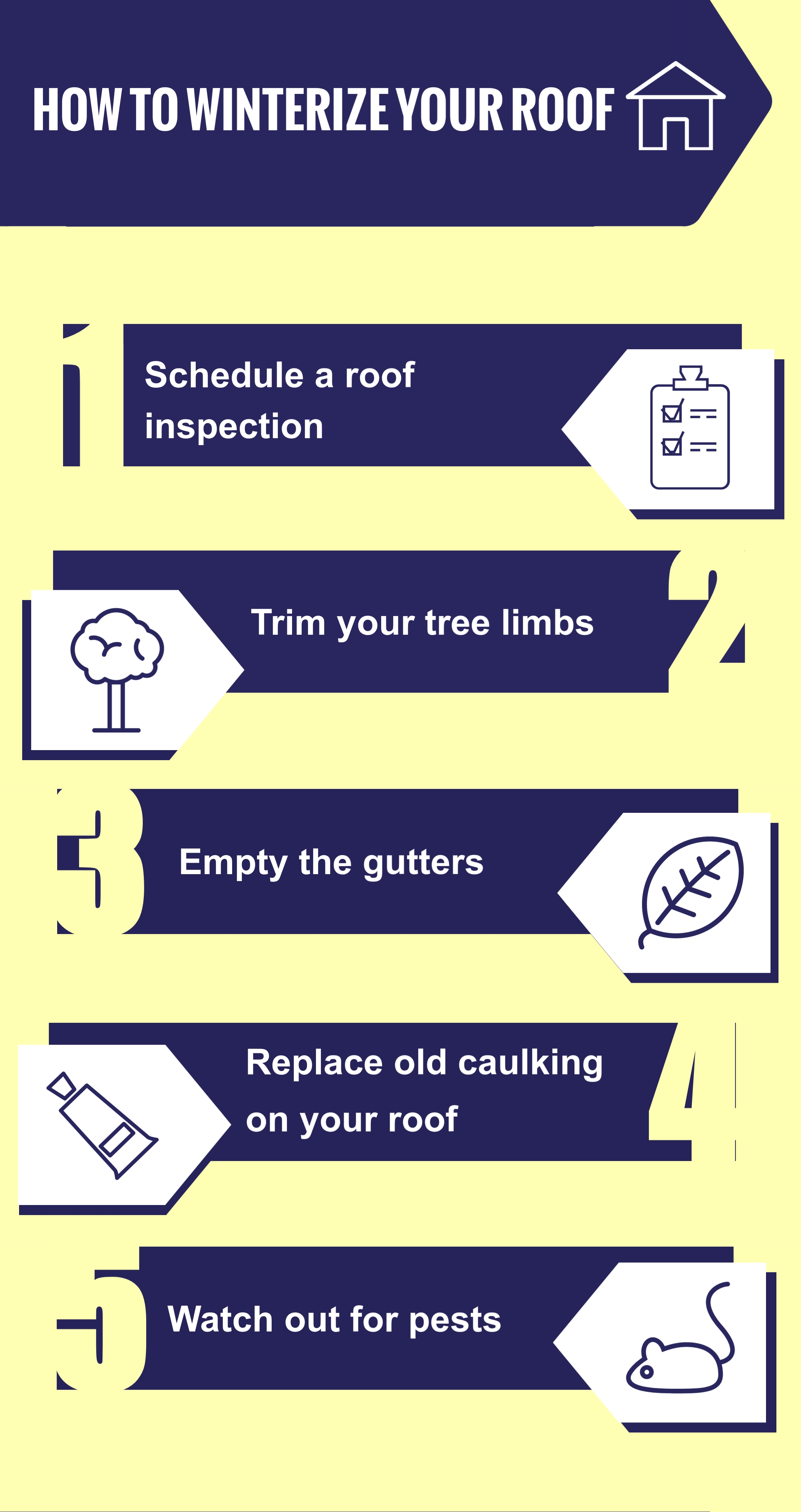 How to Winterize Your Roof, Royal Crown Roofing, Conroe, TX